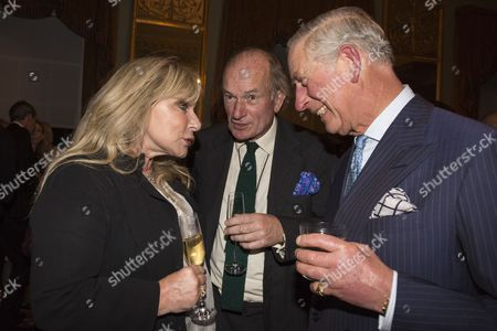 Helen Lederer, David Campbell and Prince Charles