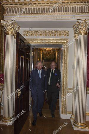 Prince Charles and David Campbell