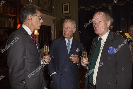 Guy de Rivoire, Prince Charles and David Campbell