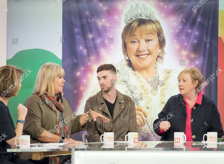 Linda Robson, Charlie Quirke and Pauline Quirke