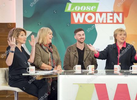 Editorial photo of 'Loose Women' TV show, London, UK - 27 Oct 2016
