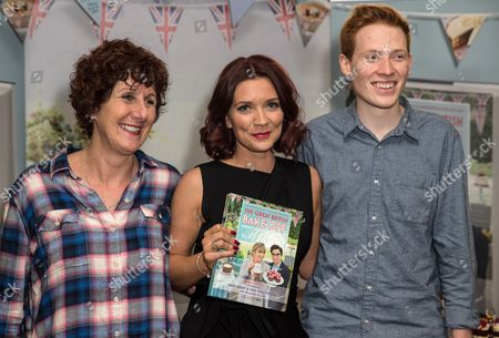 Jane Beedle, Candice Brown and Andrew Smyth