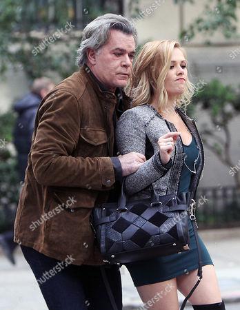 Ray Liotta and Natalie Hall