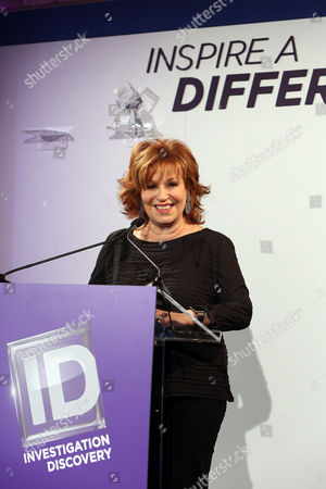 Joy Behar 2016 honoree Joy Behar speaks onstage at Investigation Discovery and Glamour's Fourth Annual Inspire a Difference Honors Event at Dream Hotel Downtown, in New York City