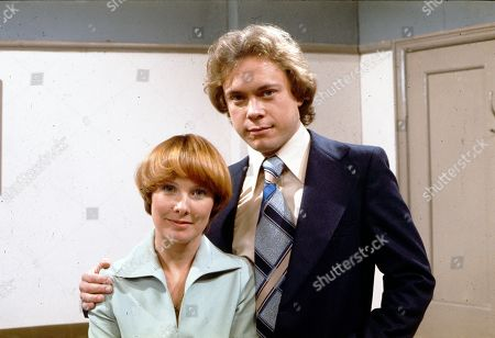 Stock Photo of Diane Grayson (as Liz Brocklebank) and Jonathan Coy (as Stanley Fairclough)