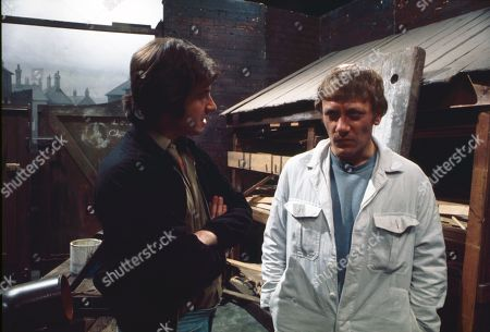 Neville Buswell (as Ray Langton) and Peter Armitage (as Maurice)