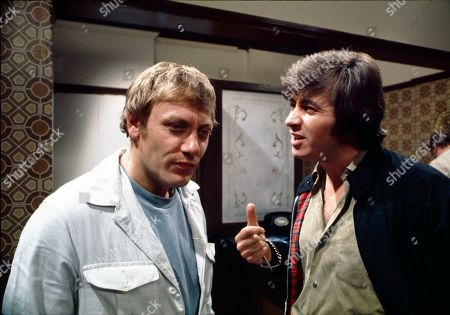 Peter Armitage (as Maurice) and Neville Buswell (as Ray Langton)