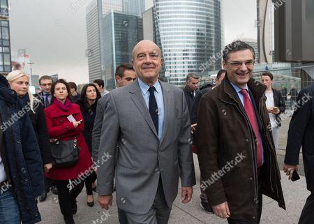 Alain Juppe and Patrick Devedjian