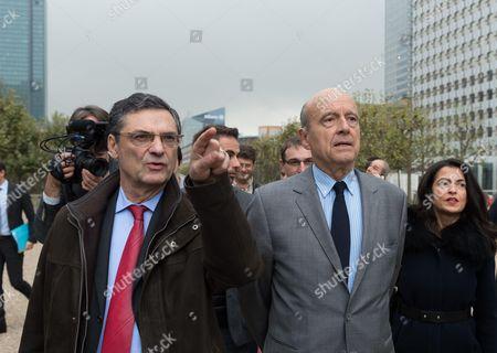 Patrick Devedjian and Alain Juppe