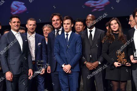 Editorial photo of Sportel Awards, Monte Carlo, Monaco - 25 Oct 2016