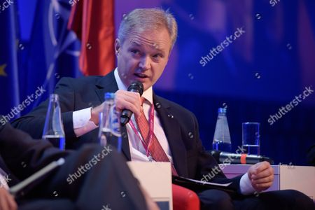 Editorial picture of Warsaw Security Forum, Hilton Hotel and Conference Centre, Poland - 27 Oct 2016