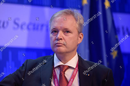 Editorial image of Warsaw Security Forum, Hilton Hotel and Conference Centre, Poland - 27 Oct 2016