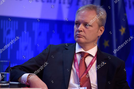 Editorial photo of Warsaw Security Forum, Hilton Hotel and Conference Centre, Poland - 27 Oct 2016