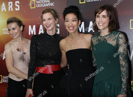 Editorial photo of National Geographic Channel's six-part global event series 'Experience Mars' event, New York, USA - 26 Oct 2016