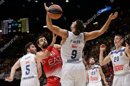 Editorial photo of Italy Basketball Euroleague, Milan, Italy - 27 Oct 2016
