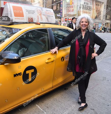 Editorial photo of Paula Deen in NYC Promoting New Evine Show 'Live From Savannah' - 27 Oct 2016