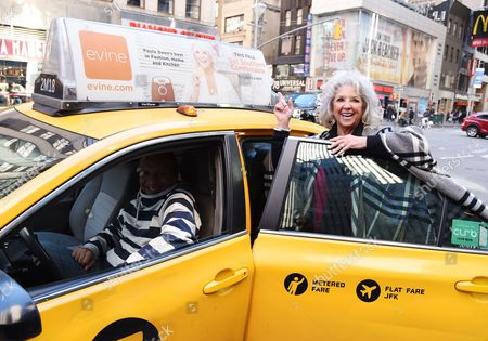 Editorial image of Paula Deen in NYC Promoting New Evine Show 'Live From Savannah' - 27 Oct 2016