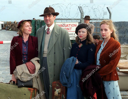 'Island At War' - 2004  Joanne Froggatt, Julian Wadham, Samantha Robinson and Saskia Reeves.