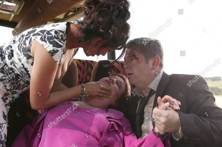 'Where the Heart Is' - 2006   Nisha Clayton (Shobna Gulati), Anna Kirkwall (Lesley Dunlop) and David Buckley (Phillip Middlemiss)