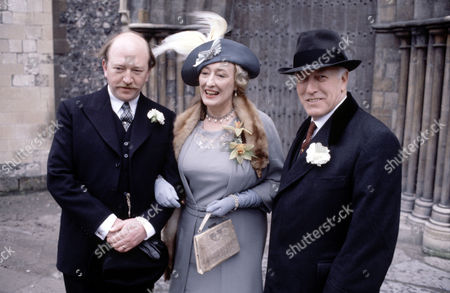 L-R.Robert Lang ,Elizabeth Spriggs and Cyril Luckham in 'Tales Of The Unexpected' - 1980  Episode: 'The Orderly World Of Mr.Appleby'