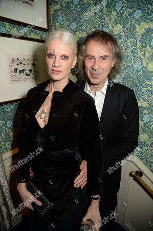 Kristen McMenamy and Ivor Braka