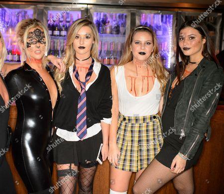 Hannah Smith, Tina Stinnes, Millie Wilkinson and Jessica Dixon