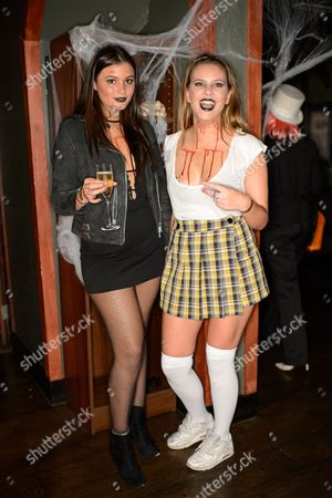 Jessica Dixon and Millie Wilkinson