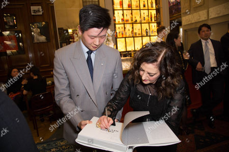 Editorial image of Launch of 'The Pearl Necklace' book by Mikimoto at Maison Assouline, London, UK - 27 Oct 2016.