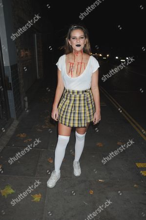 Editorial picture of The Beaufort House of Horrors Halloween Party, London, UK - 27 Oct 2016