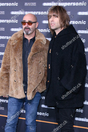 Paul Arthurs and Liam Gallagher