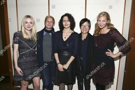 Stock Image of Dakota Fanning, Anne Carey, Tamera Jenkins, So Yong Kim and Jennifer Westfeldt