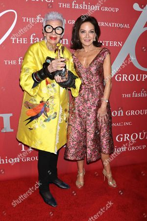 Iris Apfel and Margaret Russell