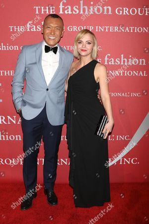 Joe Zee and Christina Ricci