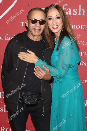 Stephen Burrows and Pat Cleveland