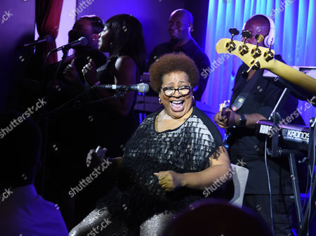 Editorial picture of Jocelyn Brown in concert at Quaglino's, London, UK - 27 Oct 2016