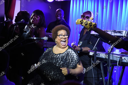 Editorial photo of Jocelyn Brown in concert at Quaglino's, London, UK - 27 Oct 2016