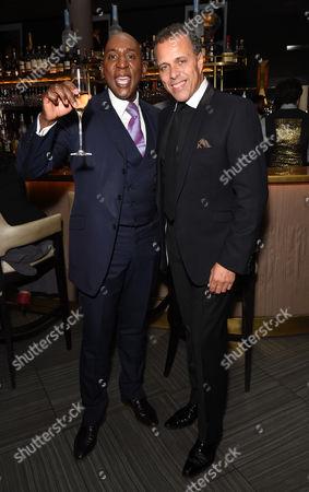 Colin Mcfarland (left) and Lance Ellington