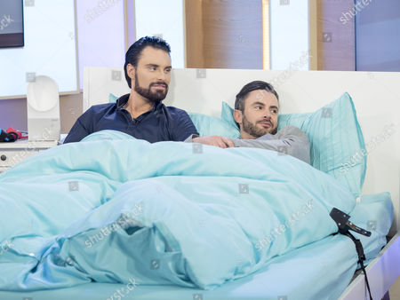 Rylan Clark and Dan Clark-Neal