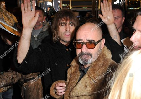 Liam Gallagher and Paul Arthurs