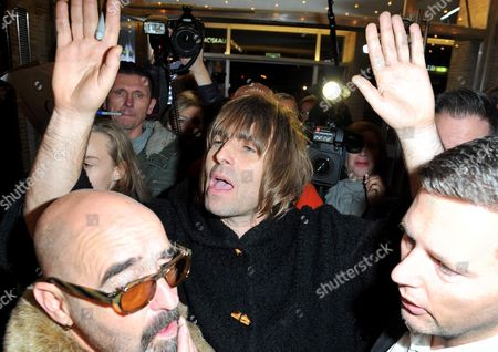 Stock Image of Paul Arthurs and Liam Gallagher