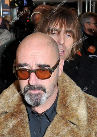 Stock Photo of Paul Arthurs and Liam Gallagher