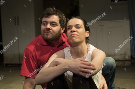 Stock Picture of Laurence Kinlan as Kurt, Caoilfhionn Dunne as Martha
