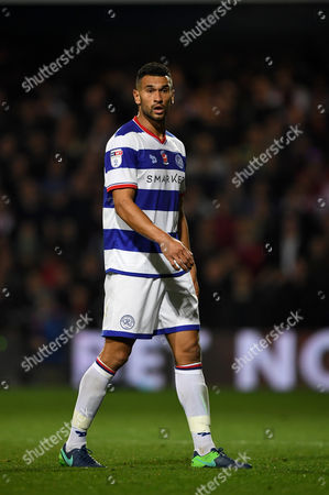 Steven Caulker of QPR during the Sky Bet Championship match between Queens Park Rangers and Brentford played at Loftus Road, London on 28th October 2016