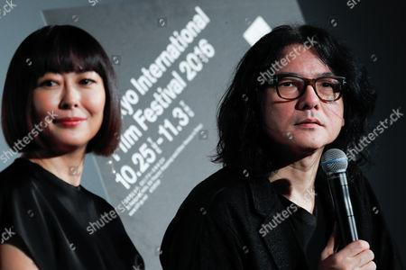 Stock Picture of (L to R) Actress Miho Nakayama and director Shunji Iwai
