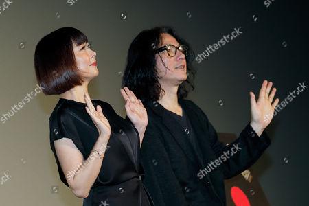 (L to R) Actress Miho Nakayama and director Shunji Iwai