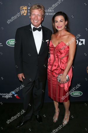 Stock Image of Nigel Lythgoe and Stephanie Magid