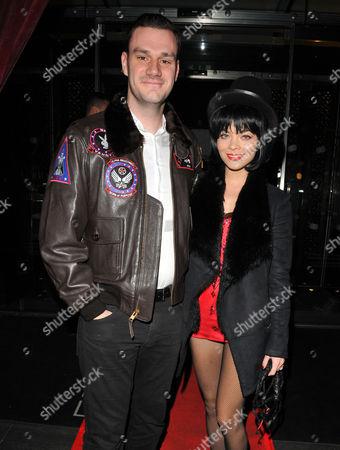 Cooper Hefner and Scarlett Byrne