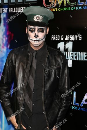 Editorial image of GMCLA's 11th Annual Fred & Jasons Halloweenie Charity Fundraiser Costume Party, Los Angeles, USA - 28 Oct 2016