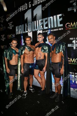 Editorial photo of GMCLA's 11th Annual Fred & Jasons Halloweenie Charity Fundraiser Costume Party, Los Angeles, USA - 28 Oct 2016