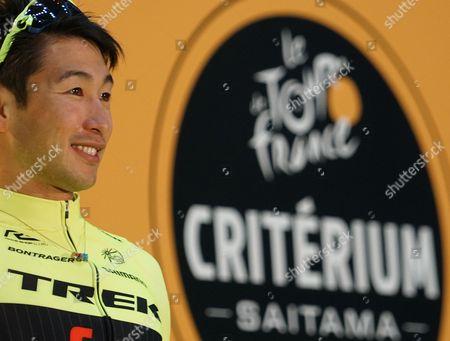 Stock Image of Fumiyuki Beppu after the main race